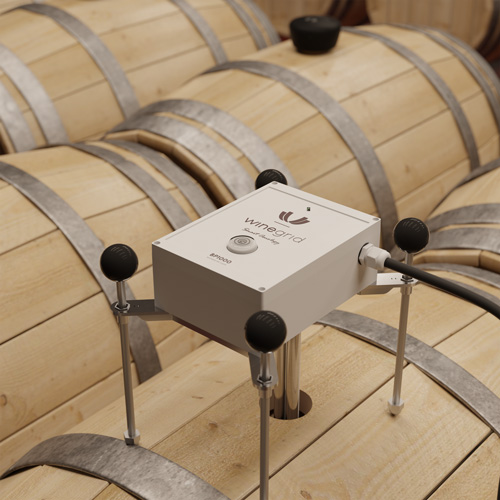 winegrid bp 1000 on barrel