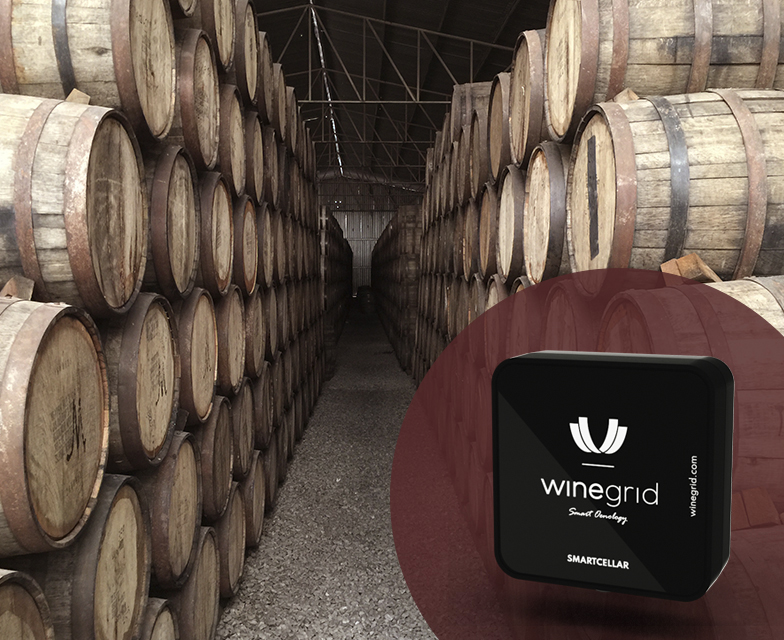 smartcellar ambient monitoring winegrid