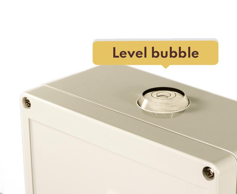 winegrid wp1100 buble level