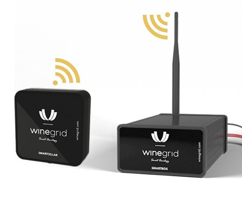 smartcellar smartbox wireless communication winegrid
