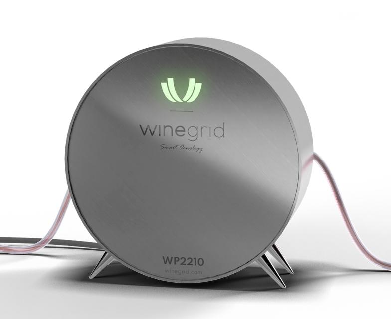 WINEGRID wp2210 SURVEILLANCE À DISTANCE ET EN TEMPS RÉEL DU PRESSURAGE