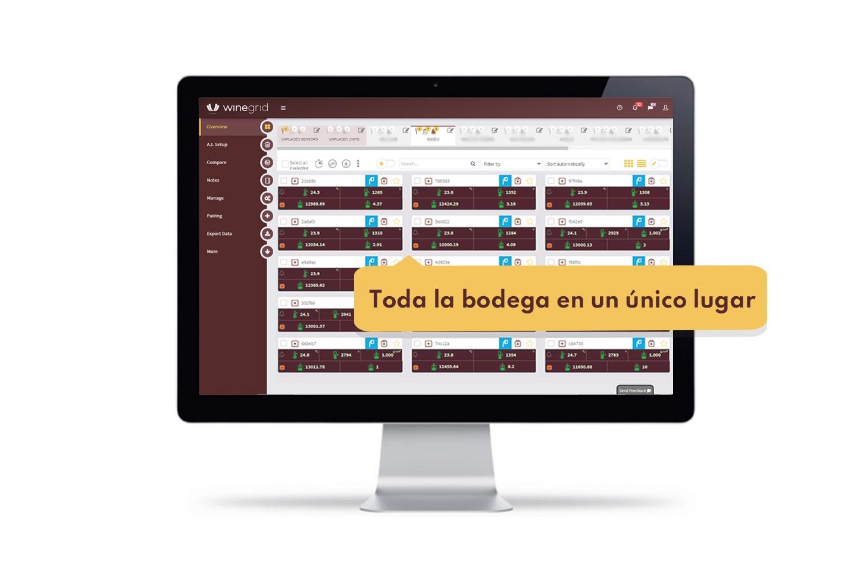 WINEGRID dashboard - TODA LA BODEGA EN UN ÚNICO LUGAR